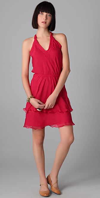 PHILOSOPHY V Neck Dress