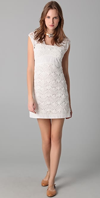 PHILOSOPHY Lace Detail Dress