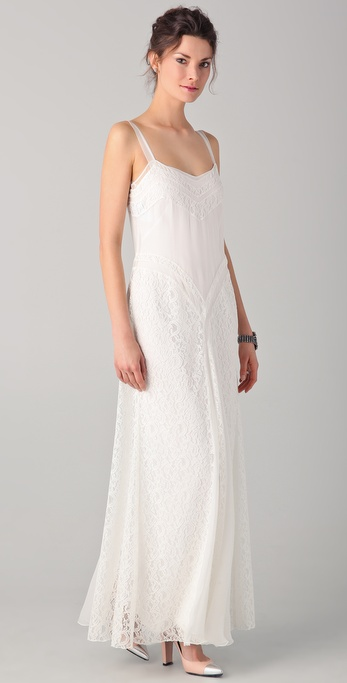 PHILOSOPHY Long Lace Dress