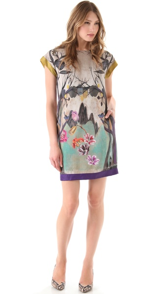 PHILOSOPHY DI ALBERTA FERRETTI Print Shift Dress