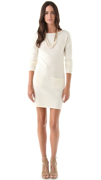 PHILOSOPHY DI ALBERTA FERRETTI Long Sleeve Sweater Dress