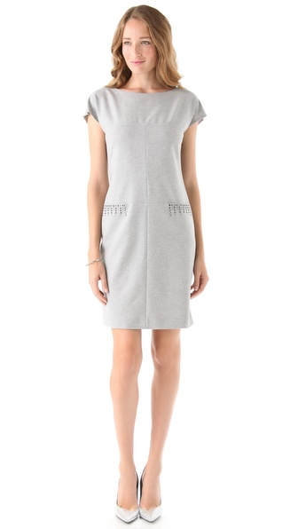 PHILOSOPHY DI ALBERTA FERRETTI Pocket Stud Dress