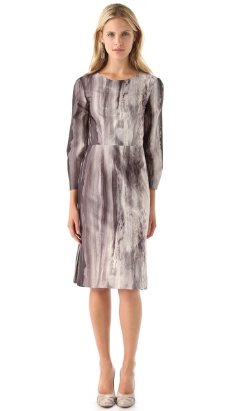 PHILOSOPHY DI ALBERTA FERRETTI Print Crepe Dress