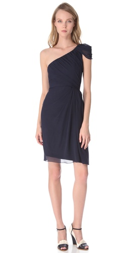 PHILOSOPHY DI ALBERTA FERRETTI One Shoulder Dress