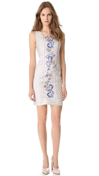 PHILOSOPHY Sleeveless Striped Dress