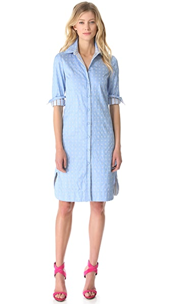 PHILOSOPHY Jacquard Shirtdress