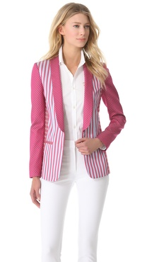 PHILOSOPHY Striped Blazer