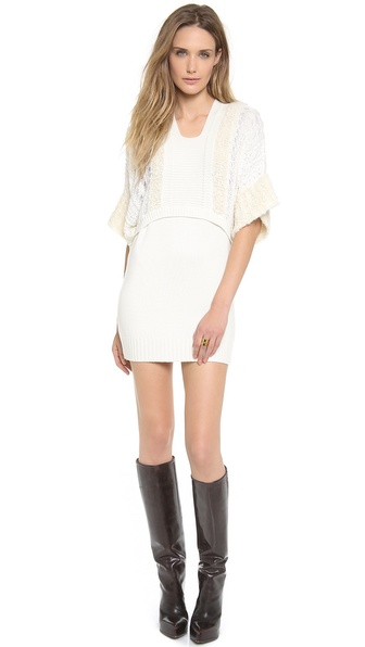 PHILOSOPHY Short Sleeve Sweater Dress