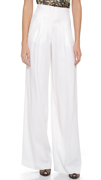PHILOSOPHY Satin Wide Leg Pants