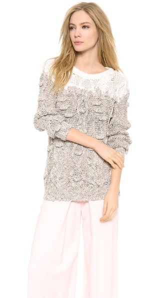 PHILOSOPHY Long Sleeve Sweater