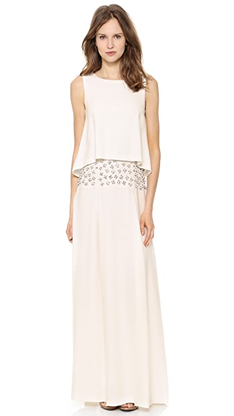 PHILOSOPHY Sleeveless Gown