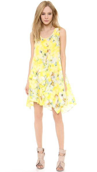 PHILOSOPHY Printed Poplin Dress