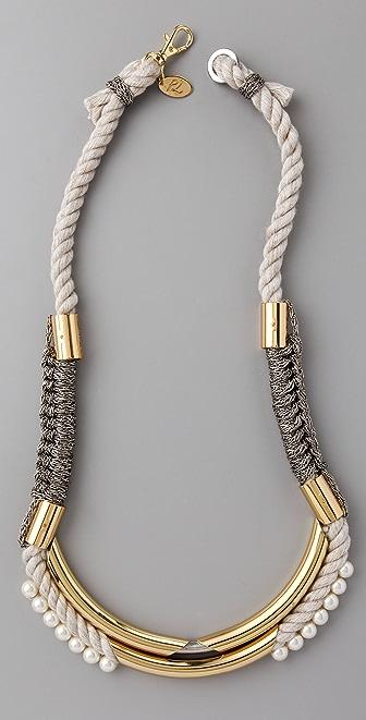 3.1 Phillip Lim Tubular Long Jagger Necklace