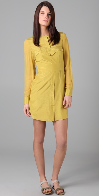 3.1 Phillip Lim Bustier Shirtdress