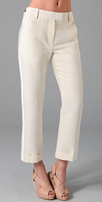 3.1 Phillip Lim Cropped Tuxedo Trousers