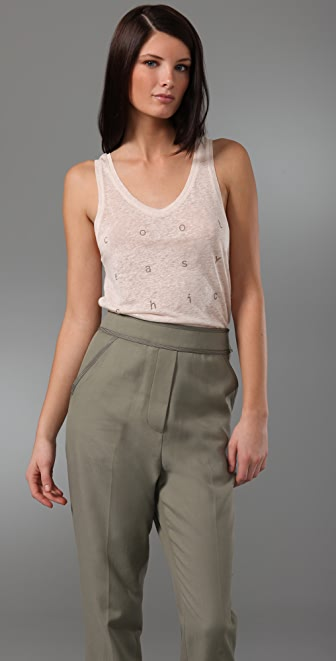 3.1 Phillip Lim Cool Easy Chic Tank