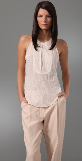 3.1 Phillip Lim Tank with Handkerchief Hem