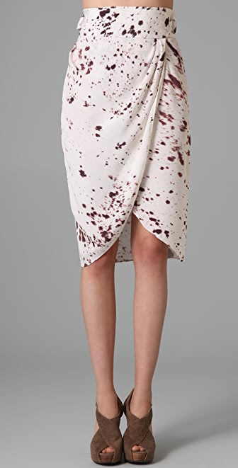 3.1 Phillip Lim Wrap Draped Skirt