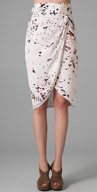 3.1 Phillip Lim Wrap Draped Skirt