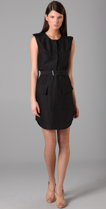 3.1 Phillip Lim Sleeveless Belted Dress