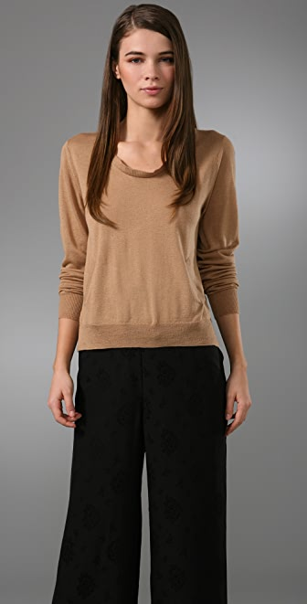 3.1 Phillip Lim Pullover Sweater with Curved Back