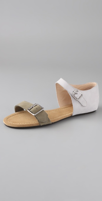 3.1 Phillip Lim Sidibe Nubuck Sandals