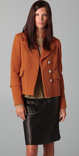 3.1 Phillip Lim Double Sleeve Pea Coat