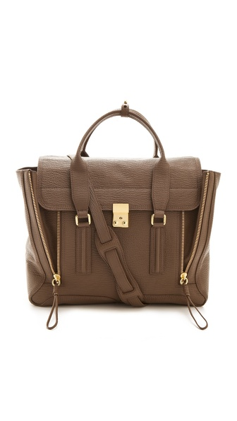 3.1 Phillip Lim Pashli Satchel - Taupe at Shopbop