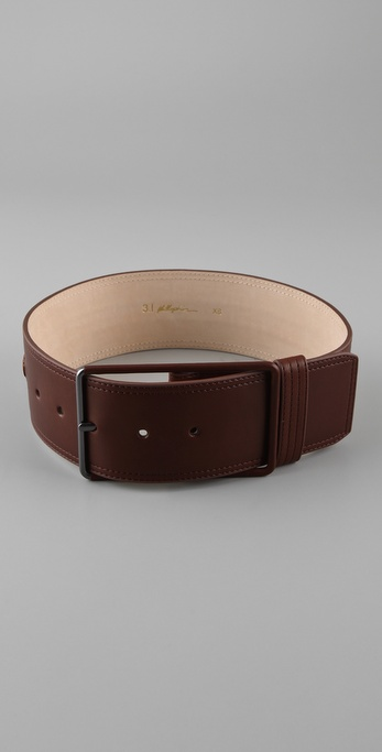 3.1 Phillip Lim Lynus Wide Braided Belt