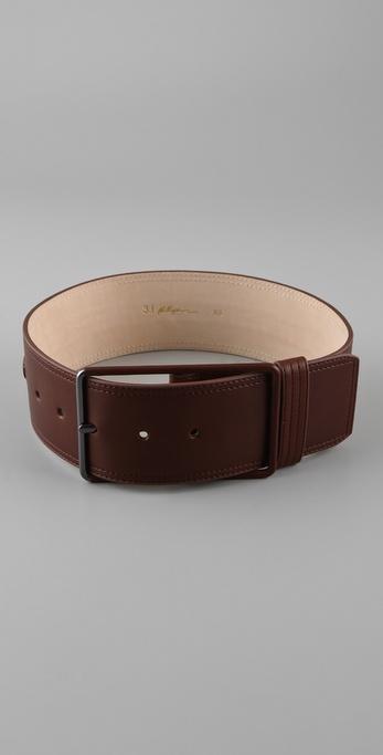 3.1 Phillip Lim Lynus Wide Braided Belt