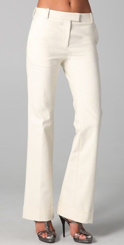 3.1 Phillip Lim Cuffed Flared Trousers