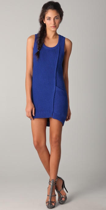 3.1 Phillip Lim Rope Stitch Tank Dress
