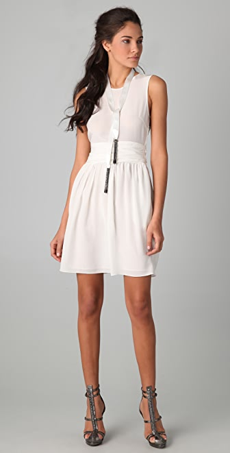 3.1 Phillip Lim Sleeveless Chiffon Dress