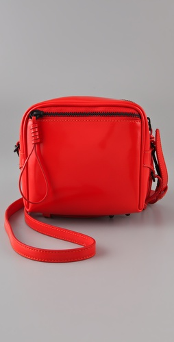 3.1 Phillip Lim Soft Patent Small Zip Bag