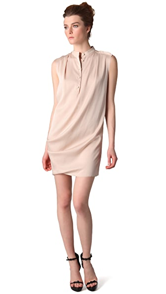 3.1 Phillip Lim Draped Front Sleeveless Dress