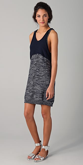 3.1 Phillip Lim Marled Tank Dress