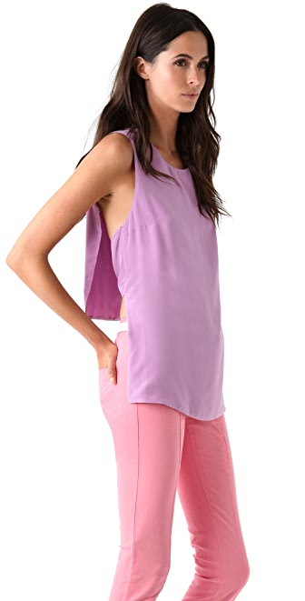 3.1 Phillip Lim Top with Convertible Back Panels