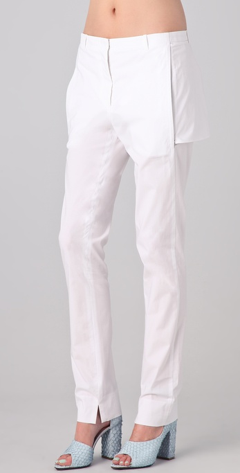 3.1 Phillip Lim Slim Leg Trouser with Back Panel