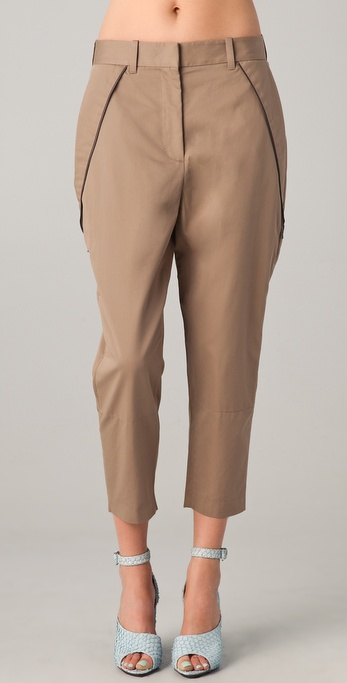 3.1 Phillip Lim Cropped Needle Trousers