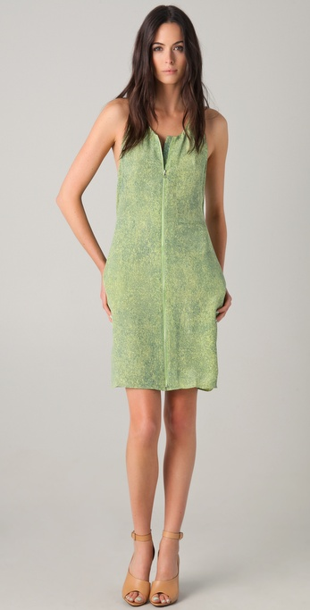 3.1 Phillip Lim Print Dress with Open Back