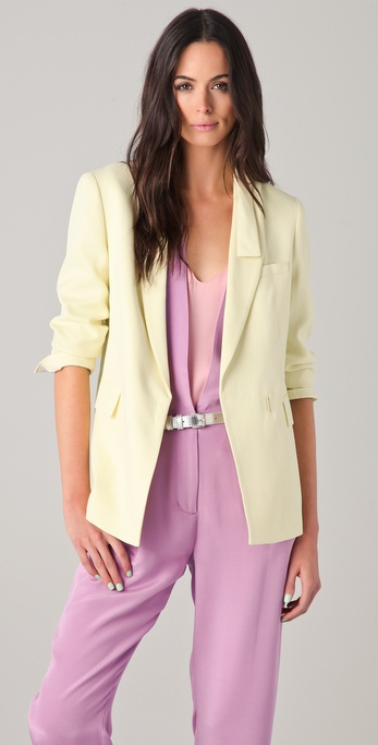 3.1 Phillip Lim Blazer with Kite Tail Collar
