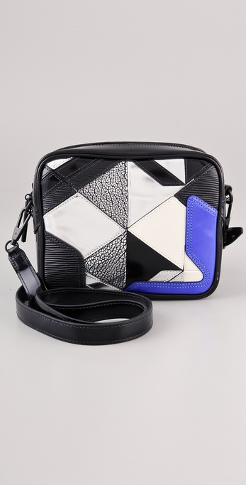 3.1 Phillip Lim Axial Patchwork Camera Bag