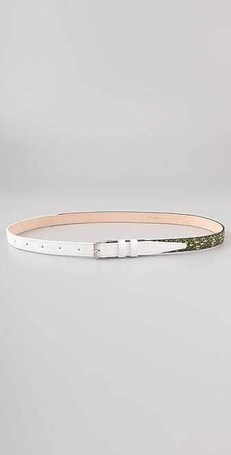 3.1 Phillip Lim Two Tone Trouser Belt
