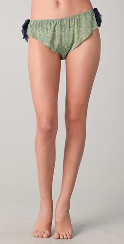 3.1 Phillip Lim Silk Bows Bikini Briefs
