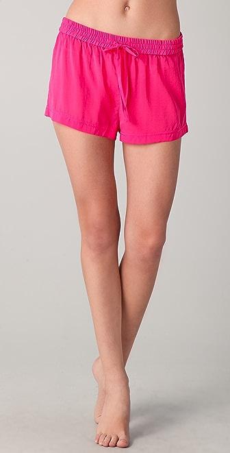 3.1 Phillip Lim Silk Drawstring Shorts