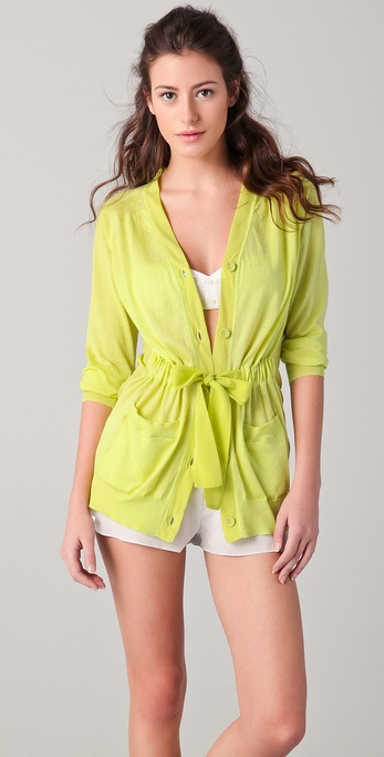 3.1 Phillip Lim Belted Cardigan Robe