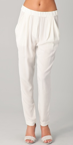 3.1 Phillip Lim Draped Pocket Trousers at Shopbop.com