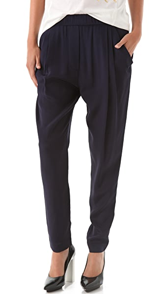 3.1 Phillip Lim Draped Pocket Trousers