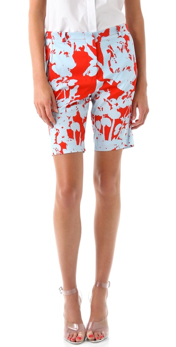 3.1 Phillip Lim Bermuda Shorts with Skirt Overlay