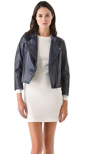 3.1 Phillip Lim Leather Moto Jacket
